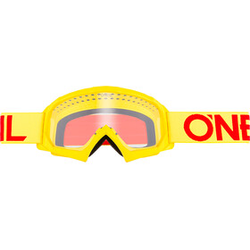 ONeal B-10 Goggle Youth SOLID neon yellow/red